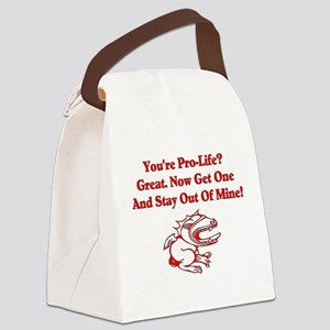 antireligion01a Canvas Lunch Bag